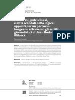 Ferrante, F.  Appunti per un percorso borgeano attraverso gli scritti giornalistici di Juan Rodolfo Wilcock