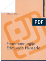Werner Marx - Fenomenologija Edmunda Huserla