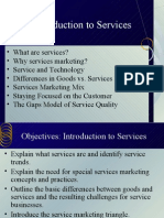 Services Marketing Introduction