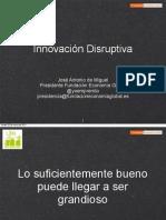 Innovación Disruptiva, No consumo, Long Tail y Economía WIKI
