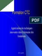 Formation CTC Innovation