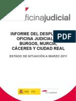 Informe Despliegue Oficina Judicial