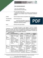 INFORME DE TRABAJO REALIZADO FT COMUNICACION 2021