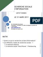 La recherche sociale d'information