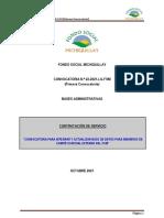 Primera Convocatoria Nº022 2021 FSM