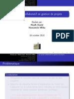 Le travail Collaboratif en Gestion de Projets