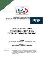 LECTURAS CONTROL Unidad 1 - GPA