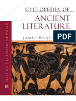 Encyclopedia of Ancient Literature - James Wyatt Cook