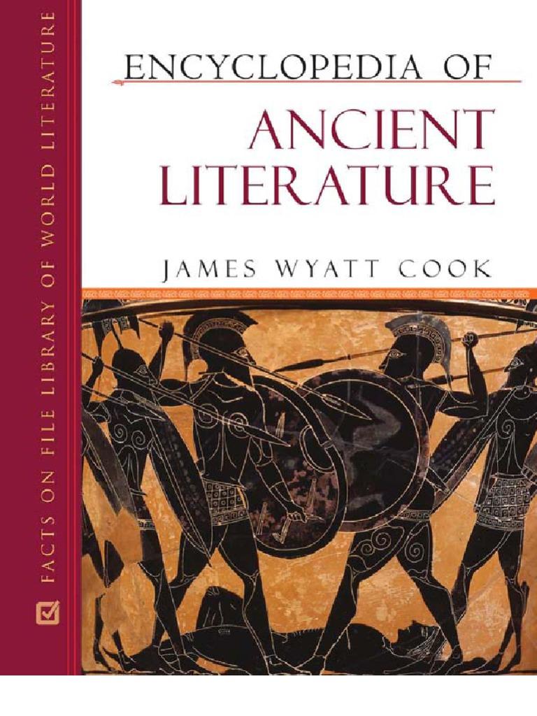 Encyclopedia of ancient literature james wyatt cook fandeluxe Choice Image