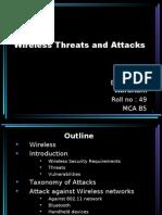 Wireless Threats and Attacks