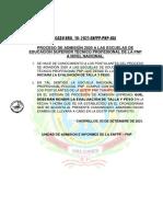 Comunicacion Tarapoto Talla y Peso 2021
