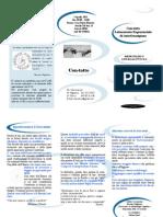 Brochure Seminario Introduttivo Con-tatto