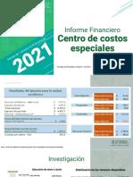 Informe Financiero a Junio 2021