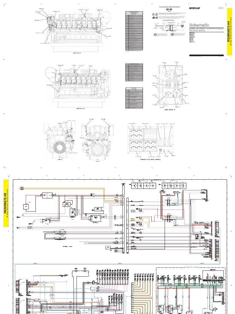 Cat 3512b Wiring Diagram Blog About Diagrams Engine For Generator Trusted Caterpillar 3512