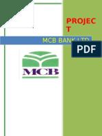 MCB PROJECT(Mi08MBA020, Mi08MBA040)
