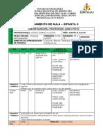 PLANO INFANTIL II - 2 PERIODO