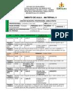 PLANO MATERNAL II - 2 PERIODO