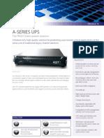 AST A Series Datasheet
