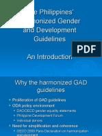 Presentation 2 REV (Background of the Harmonized GAD Guidelines)