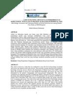 Tahap Pengetahuan Dan Pola Penggunaan Perkhidmatankerja Sosial Di Kalangan Pesakit Kajian Kes Di Hospital Ukm