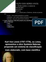 1- CLASSIFICAO TAXONOMICA