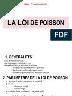 7. LA LOI DE POISSON