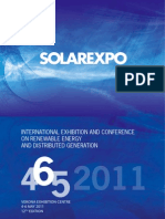 Solar Expo Verona Italy May 2011 BrochureSE En