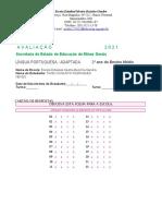 AVALIAÇÃO  LÍNGUA PORTUGUESA - P0201TIAGO  (1) (1)