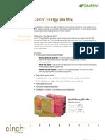 Green Tea Cinch Energy PDF