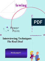 Interview Power Point