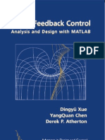 Linear Feedback Control Analysis and Design with MATLAB (Advances in Design and Control)