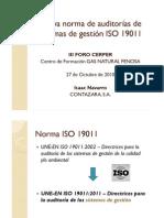 Nueva ISO 19011