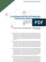 LA INICIATIVA DEL PISO DE PROTECCIÓN SOCIAL DE LA ONU