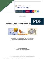 ACC_WF_DB0001 Généralités et Principes Directeurs Dec 2010