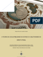 A Teoria da Coculpabilidade do Estado e a Seletividade do Direito Penal