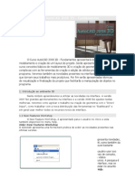 Curso AutoCAD 2008 3D - Fundamentos