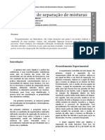 Química Experimental 1 - Relatório 5