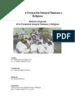 DIDACTICA ESPECIAL DE FIHR  I Y II