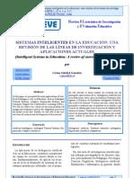 CARINA GONZALEZ - SISTEMAS INTELIGENTES EN LA EDUCACIÓN - UNA REVISIÓN DE LAS LÍNEAS DE INVESTIGACIÓN Y APLICACIONES ACTUALES