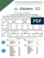siha Programme Automne 2021