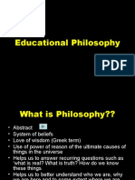 01 introduction to philosophy of education