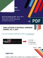 ATPC - 07.10.2021 - SLIDE 8 - RECUPERAÇÃO E APROFUNDAMENTO - 9º ANO - MAT
