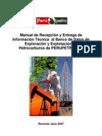 Manual Recepcion Entrega Informacion Técnica, Setiembre 2007 vfinal