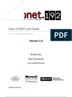 Cisco CCENT Lab Guide v1.0