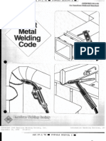 ansi-aws standard d9 1-90; sheet metal welding code (ebook, 59 pages)