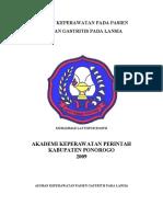 Asuhan Keperawatan Pasien Gastritis Pada Lansia