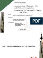 FAUA - UPAO  TALLER PRE - PROFESIONAL DE DISEÑO ARQUITECTÓNICIO  VIII 2009-10.  Esquisse 3  Estudio de Caso