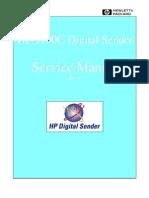 HP Digital Sender 9100C Service Manual