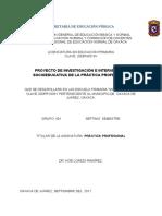 7. PROYECTO DE PRÁCTICAS PROFESIONALES