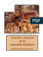 Carácter material de la conquista hispánica de Rafael Ramos Pedrueza